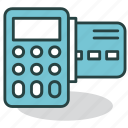 calculator, card, method, money, pay, payments, terminal icon