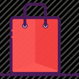 bag, market, paper, shop, shopping, store icon