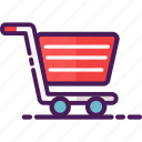 cart, sell, shop, shopping, trolley icon