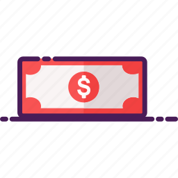 cash, dollar, income, money, saving icon