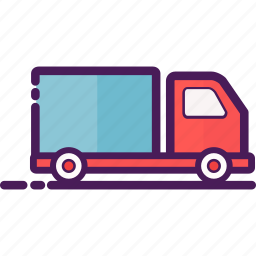 box, car, courier, delivery, service, shop, truck icon