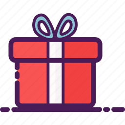 box, gift, giftbox, package icon