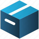 box, delivery, e-commerce, package, parcel