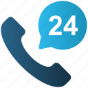 24 hours, call, e-commerce, phone, service, support