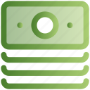 dollar, payment, e-commerce, notes, money icon