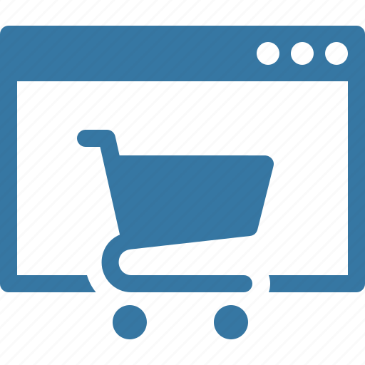 buy online, ecommerce, online shop icon