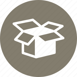 moving, open box, product icon
