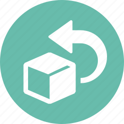 box, return, returns icon