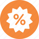discount, promotion, sale, shopping icon