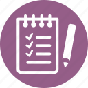 shopping list, tasks, wishlist icon