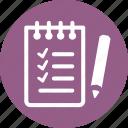 shopping list, tasks, wishlist icon