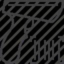 bar, barcode, code, scanner icon