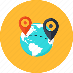 commerce, delivery, e-commerce, geo tag, point, pointer, shipping icon