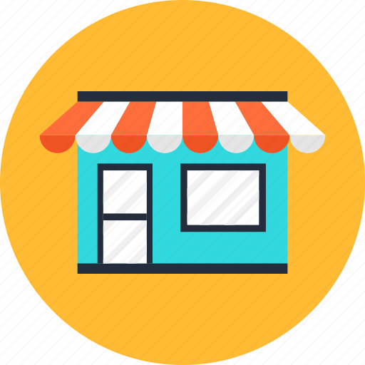 building, commerce, market, marketplace, shop, shopping, store icon