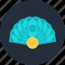cash, coin, commerce, dollar, money, shopping, wealth
