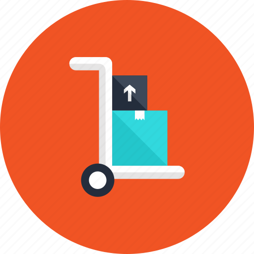 box, cargo, cart, container, delivery, logistic, package icon