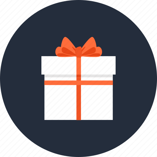 box, commerce, gift, giftbox, present, shopping, wrapped icon