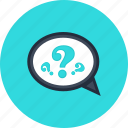 about, commerce, help, info, information, question, shopping icon