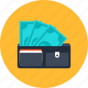 commerce, money, pay, payment, saving, shopping, wallet
