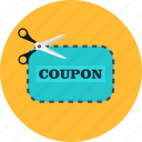 commerce, coupon, discount, label, sale, shopping, voucher icon