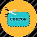 commerce, coupon, discount, label, sale, shopping, voucher