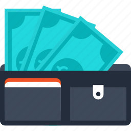 commerce, money, pay, payment, saving, shopping, wallet icon