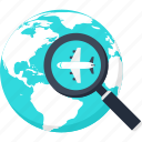 check, delivery, global, location, shipping, system, tracking icon