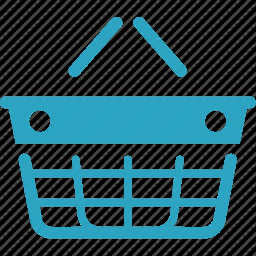 ecommerce, empty basket, shopping basket icon