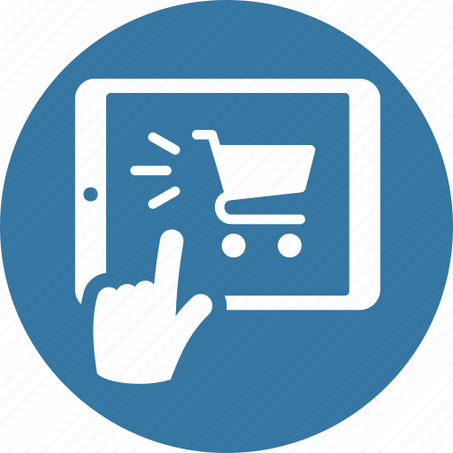 buy online, mobile shopping, online shopping, tablet icon