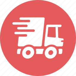 express shipping, fast delivery, truck icon