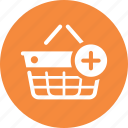 add to basket, ecommerce, shopping basket icon