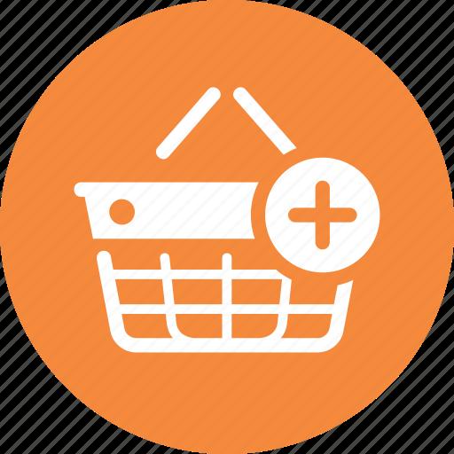 add to basket, ecommerce, shopping basket icon
