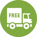 delivery, free shipping, truck icon