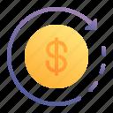 refund, cashback, coin, cash, money
