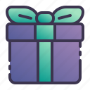 gift, box, package, present, ribbon