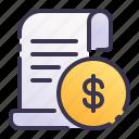 receipt, invoice, bill, payment, finance