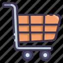 cart, shopping, online, market, ecommerce