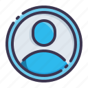 profile, account, avatar, user, human