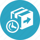 box, fast returns, return icon