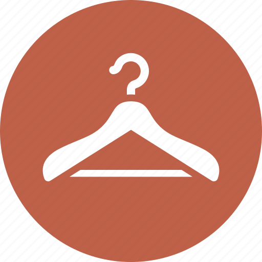 clothes hanger, size guide, sizing icon