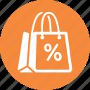 discount, sale, shopping bag