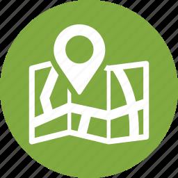 location, map, store locator icon