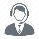 call center, consultant, help, information, service icon