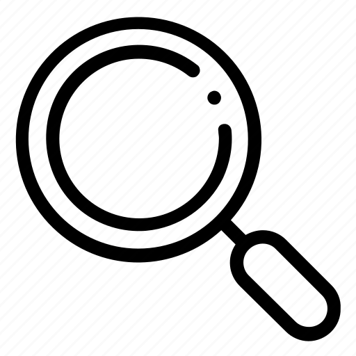 Search, find, magnifier, zoom, magnifying glass, business icon - Download on Iconfinder