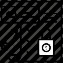 shopping, list, checklist, mark, paper, report, tick