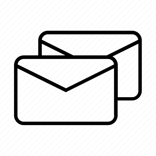 business, ecommerce, letter, mail, mails, message, shopping icon