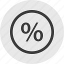 interest, percentage, rate, save, savings icon