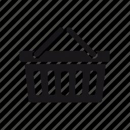 basket, buy, ecommerce, shopping, shopping cart icon