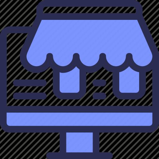 buy, commerce, computer, online, shop icon