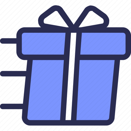 box, commerce, delivery, gift, send icon